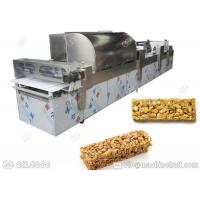 Commercial Cereal Bars Machine Forming Puffed Rice With Progressive Technology
