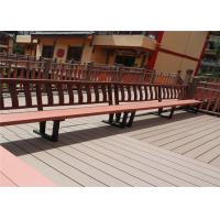 Wood Plastic Composite Anti-weathering Durable Park Leisure Bench & Chair Manufactures