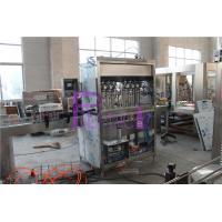 Automatic Piston Type Liquid Filler Equipment Ketchup / Mayonnaise 6000 - 8000BPH Manufactures