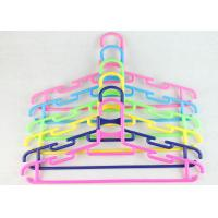 Slim Plastic Clothes Hangers In Bulk Multi Garment Hangers For Retail Stores Manufactures