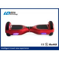 Light Up Red 10 Inch Self Balancing Scooter Handless Segway CE Approved Manufactures