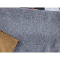 China Wool Double face fabric woolen grey camel on sale
