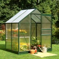 China Easy Installation Polycarbonate Film Greenhouse / DIY Garden Greenhouse on sale
