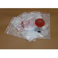 Flat Top Open PE Plastic Bags Offset Printing With 2 Or 3 Sealing Sides Manufactures