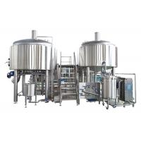 China 35HL Large Brewing Equipment Fabrication SS316 Material Advanced CIP Cleaning System on sale