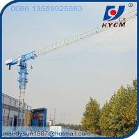 Buy cheap 60m Freestanding Height QTP315(7030) Flattop Tower Crane with 70m Jib and 18ton from wholesalers