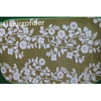 Green printed flower Microfiber Mat 40*60 floor bathroom memory  foam mat carpet Manufactures