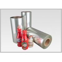 China Roll Heat Shrinkable Polyethylene Terephtalate Glycol Shrink Wrap 450mm - 1200mm Width on sale
