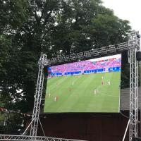 Outdoor 1/8 Scan SMD3535 Stage Curtain Video Wall P6 Display