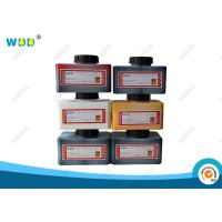Batch Code Printer Domino Ink Cartridge IR-270BK 1.2L Black Energy Saving Manufactures