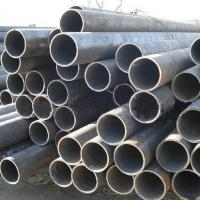 Q195 - Q345 Thick Wall Steel Welded Pipe ASTM A53 BS1387 , Round Structure / Fluid Pipe Manufactures