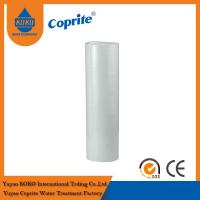 20B 1 / 5 Micron White PP Sediment Water Filter Cartridge For Water Filter Manufactures