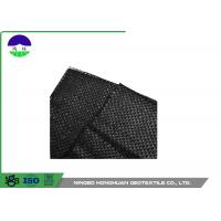 205gsm Split Film Woven Geotextile Fabric Easy Installation Slop Protection Manufactures