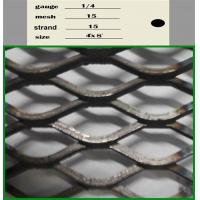 Aluminium Expanded Wire Mesh , Decorative Expanded Metal Mesh 0.3mm-8mm Thickness Manufactures