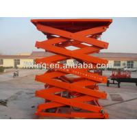 Safe Hydraulic Scissor Lift Platform 2t 3t 4t with high load capacity for airport