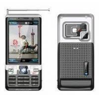 China Quad-band TV Mobile Phone with Dual SIM Cards Dual Standby on sale