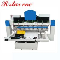 4 axis 3d wood cylinder router carving machine with 8 spindles Manufactures