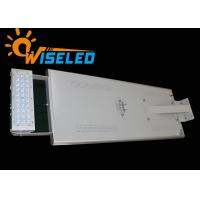 Beam Angle All In One Solar LED Street Light Adjustable With Time Sensor Manufactures