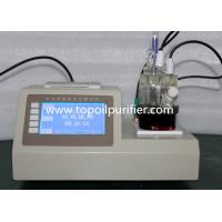 Model TP-2100 Karl Fischer moisture Content Testing Equipment, ISO remark, high accuracy, LCD Manufactures