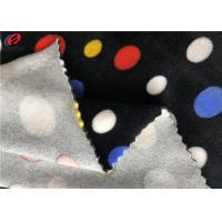 Home Textile Spandex Velvet Knitting Fabric Print Velboa Fabric For Baby Use Manufactures