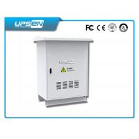 Outdoor UPS System for Oudoor Telecom with Sealing Level IP55 and Anti Cold / Hot Function Manufactures