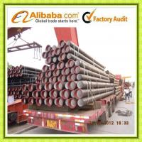 ductile iron pipe ISO2531/K9 Manufactures