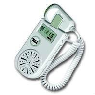 Quality handheld  fetal doppler ultrasonic probe 3 Mhz with dry battery for sale