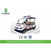 Public Security Electric Police Patrol Car , Electric Sightseeing Vehicle Energy Saving Manufactures