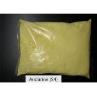 China S4 Andarine Sarm , Light Yellow Powder Sarms For Bodybuilding CAS 401900-40-1 on sale