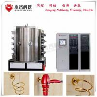PVD Chrome Vacuum Metallization Equipment / Vacuum Metallizing Machine For Hair Dryer Holder Manufactures