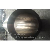 St52-3 forged steel rings Hot Rolled Sleeve Forged Cylinder 3000mm length Manufactures