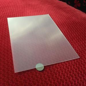 Transparent  3D lens 51X71CM 0.25MM PET Lenticular Film 3d sheet lenticular lens for UV offset 3d lenticular printing Manufactures
