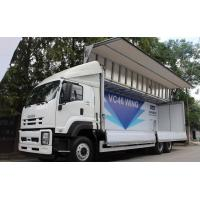 Isuzu Chassis Small Cargo Truck 6*4 5 Tons Wings Opaning Truck for Transporting Dry Cargo Manufactures