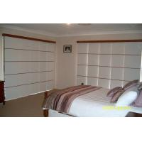 Sunscreen Windows Shades Blinds with Fabric Panel Sliding Anti-UV Manufactures