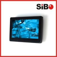 China Upgraded Android 6.0.1 OS 7 Inch Wall Flush Mounted Industrial Control Touch Screen With POE on sale
