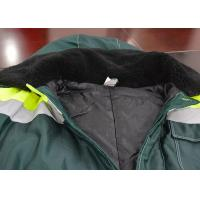 Quality Hood Design Outdoor Work Clothes Two Pieces Jacket Wear Resistance for sale