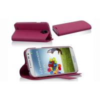 Extra Slim Cell Phone Leather Case with Sleep Function , Samsung Galaxy S4 i9500 PU Stand Case Manufactures