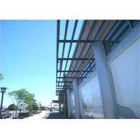 China Easy Clean Aluminium Sun Shades With Concave / Convex Type A-0505 on sale
