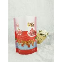 China Supplier Top Zip Plastic Bag / Round Bottom Plastic Food Packaging Bag / Stand Up Pouch Bag for snacks , Manufactures