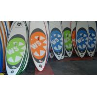 Inflatable Standup Paddleboard 12 Feet , Attractive Custom Paddle Boards With EVA Pad Manufactures