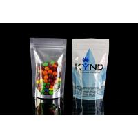 Aluminum Foil Plastic Packaging Bags , Malaysia eco friendly stand up pouches Ziplock Manufactures