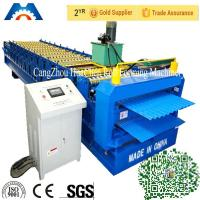Corrugated iron roof sheet Double Layer Roll Forming Machine for Turkey market Manufactures
