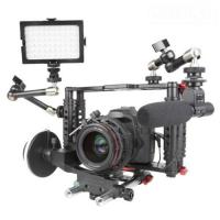 DSLR Camera Cage with Standard 15mm Rod is work with Canon 5D Mark II, 7D  Manufactures