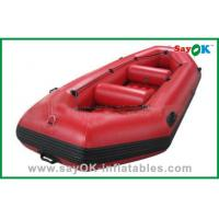 Durable Adults PVC Rigid Inflatable Boats 3 - 8 Persons Water Park Entertainment Manufactures
