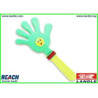 Blue Pink Party Supplies PVC Plastic Hand Clappers For Cheering Manufactures