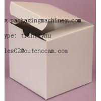 white paper box CNC cutter table sample maker machine Manufactures