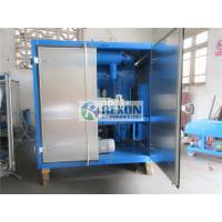 China Fully Enclosed Type Bipolar Vacuum Insulating Oil Purifier Machine 12000Liters/Hour on sale