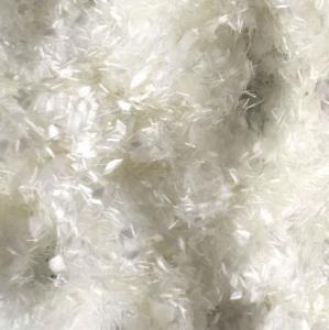 Quality 25mm Concrete Pet Fiber Staple/100% Pet Flakes Virgin Polyester Staple Fiber/PET for sale
