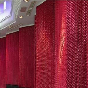 Unique metal Curtain door fly screens Manufactures
