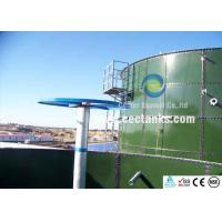 50000 gallon Agricultural Water Storage Tanks With Porcelain Enamel Coating Process Manufactures